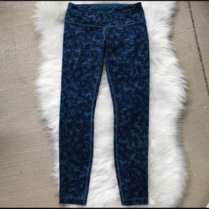 Lululemon Wunder Under Pant Mystic Jungle Hawk